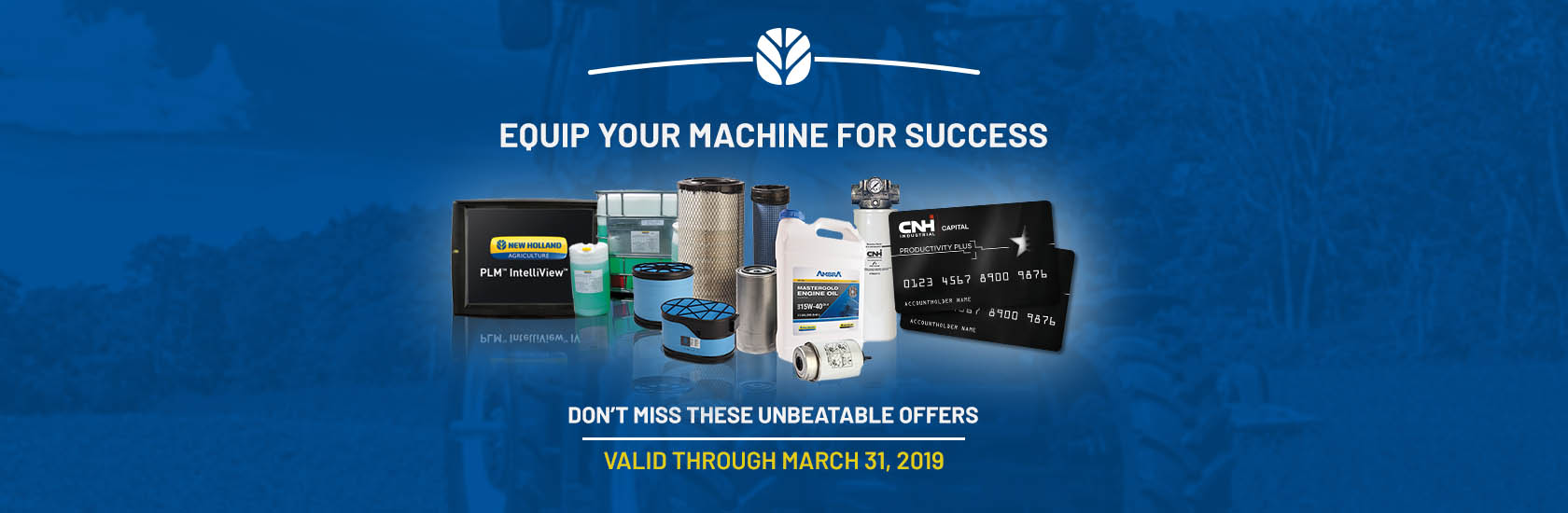 EQUIP YOUR MACHINE FOR SUCCESS